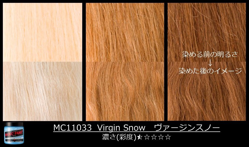 Have Virgin pale virgin blonde thought differently