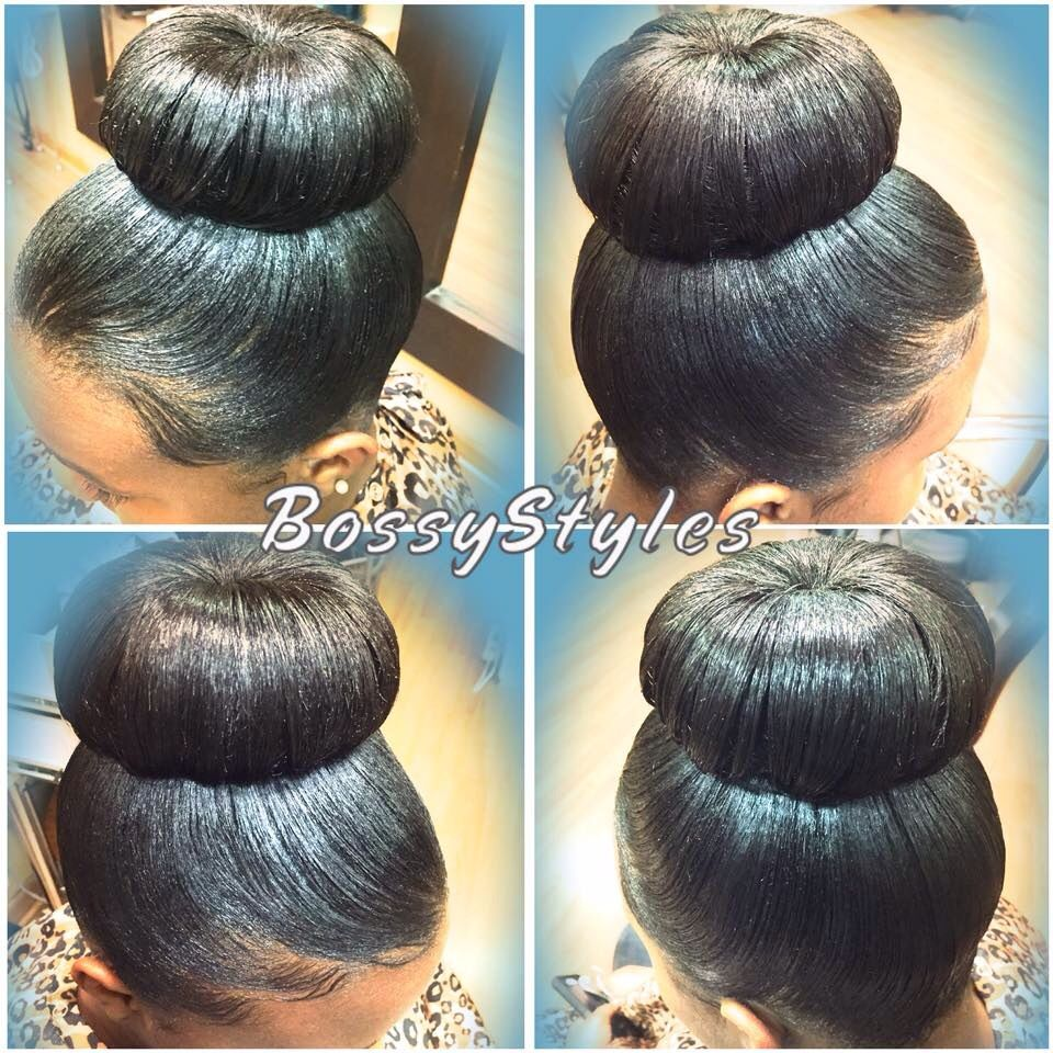 Bun Loving Hair Styles Black Hair Updo Hairstyles Black Hair Bun