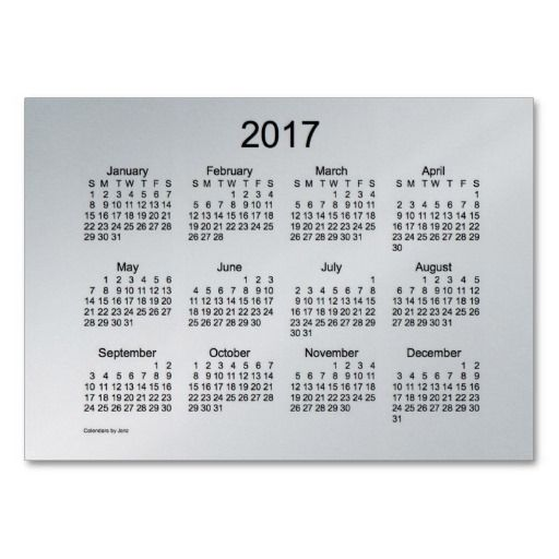Pocket Calendar Business Card Template  Diy  Crafts  Home