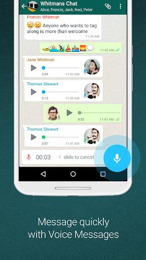 Whatsapp Messenger App Free Offline Apk Download Android Market Messaging App Messages Whatsapp Message