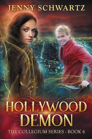 Hollywood Demon Jenny Schwartz (The Collegium, #6) Publication date: August 27th 2016 Genres: New Adult, Paranormal, Romance Feel the Earth move! A camera can't steal your soul—but a demon can! Mar…