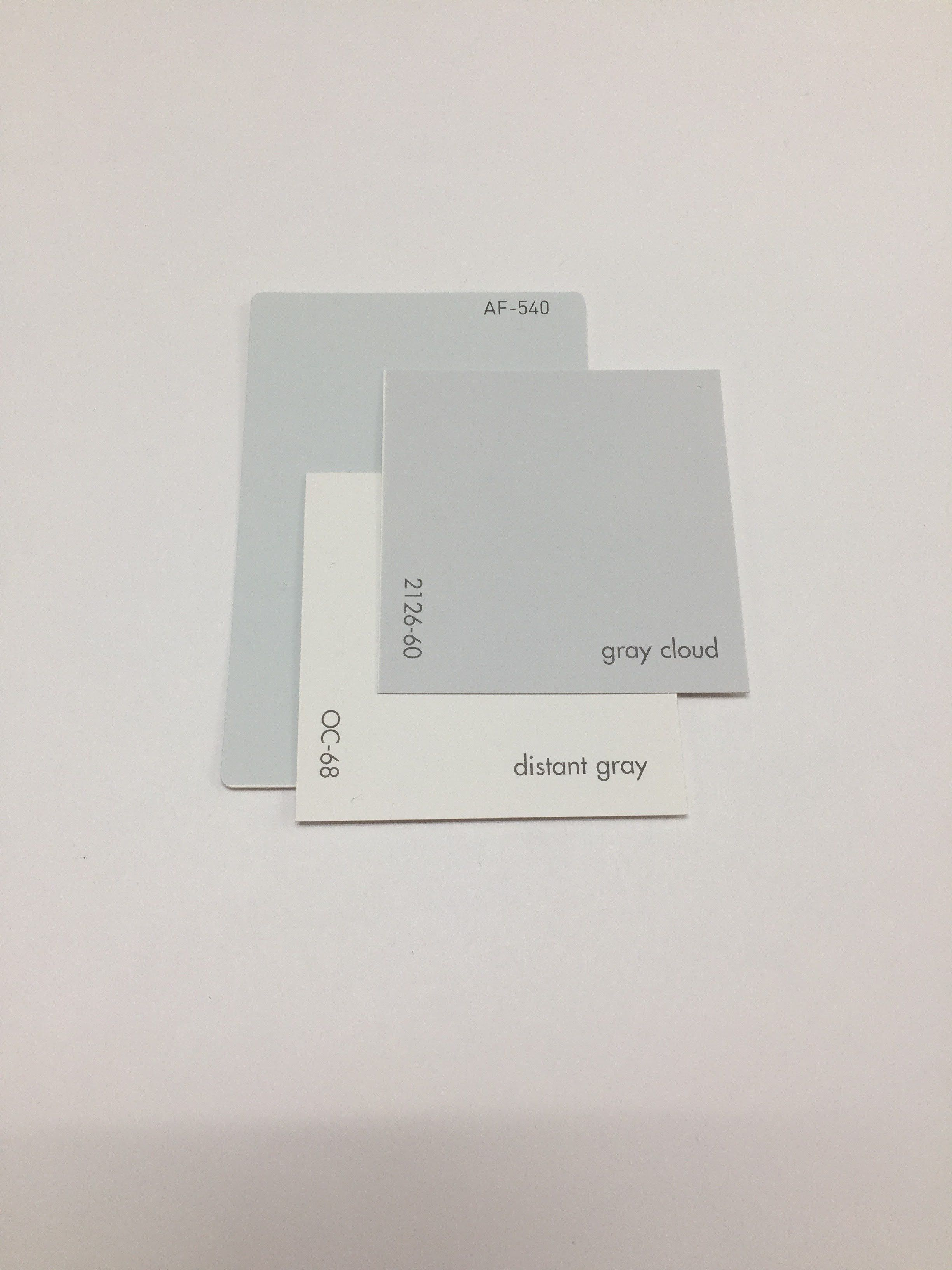 Benjamin Moore Constellation Af 540 Gray Cloud 2126 60 Distant Oc 68