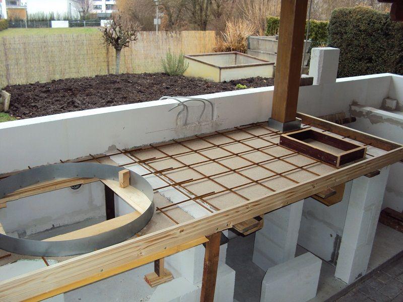 Projekt Aussenkuche 2012 13 14 Em 2020 Cozinha De Tijolos Cozinha De Concreto Cozinhas De Alvenaria