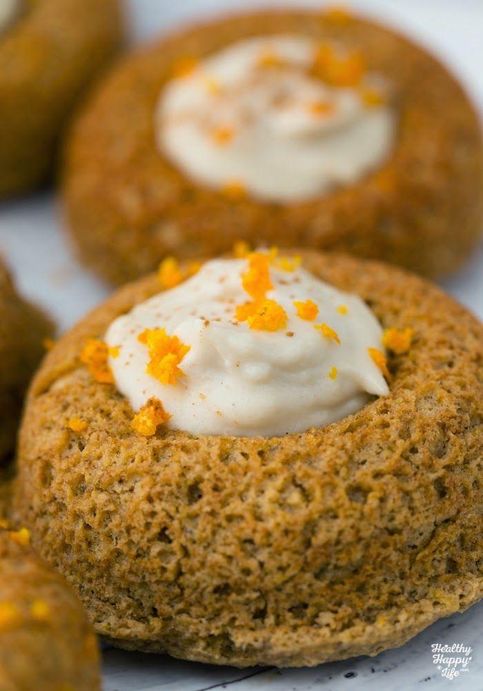 Dessert Recipe Orange Cashew Cream Filled Donuts