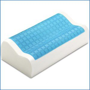 6 Pharmedoc Contour Memory Foam Pillow W Cooling Gel Technology
