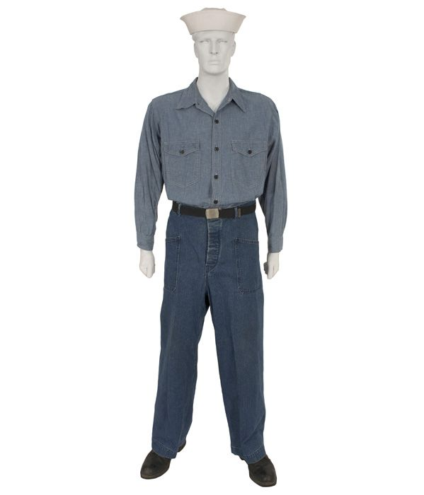U S  Navy Utility Uniform WWII My Dad wore this | History