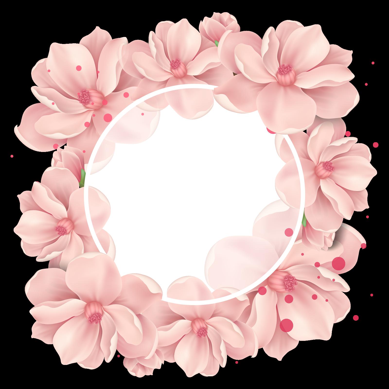 Épinglé par Rima Rourou sur photoshop (avec images)   Papier peint à fleurs, Fond floral, Cadre ...