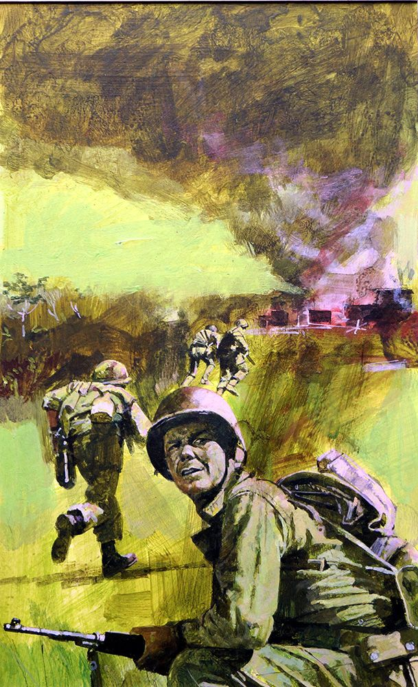The Valley of Hanoi Vietnam art, War art, Art