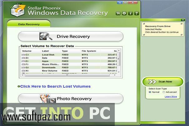 Downloading Stellar Windows Phoenix Data Recovery Free Has Never
