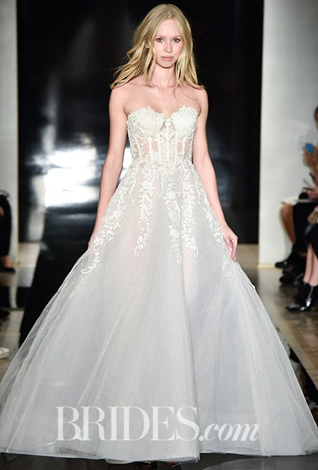 Reem acra spring 2017 reem acra reem acra wedding for Wedding dresses reem acra