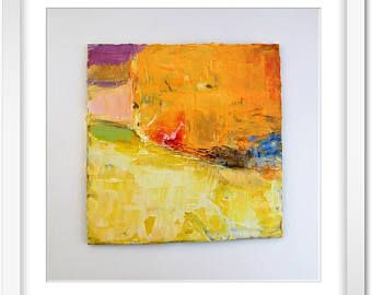tableau peinture abstraite art mural peinture acrylique