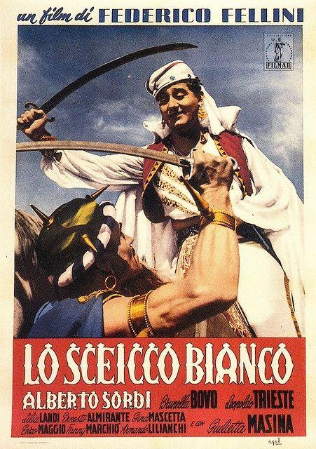 El Jeque Blanco de Federico Fellini