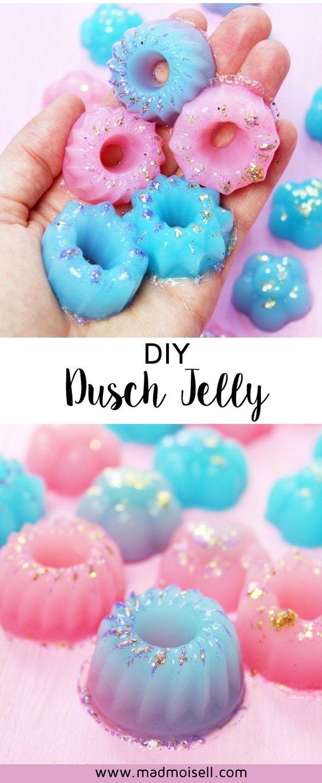 diy dusch jelly im lush style selber machen einfache anleitung pinterest sag etwas. Black Bedroom Furniture Sets. Home Design Ideas