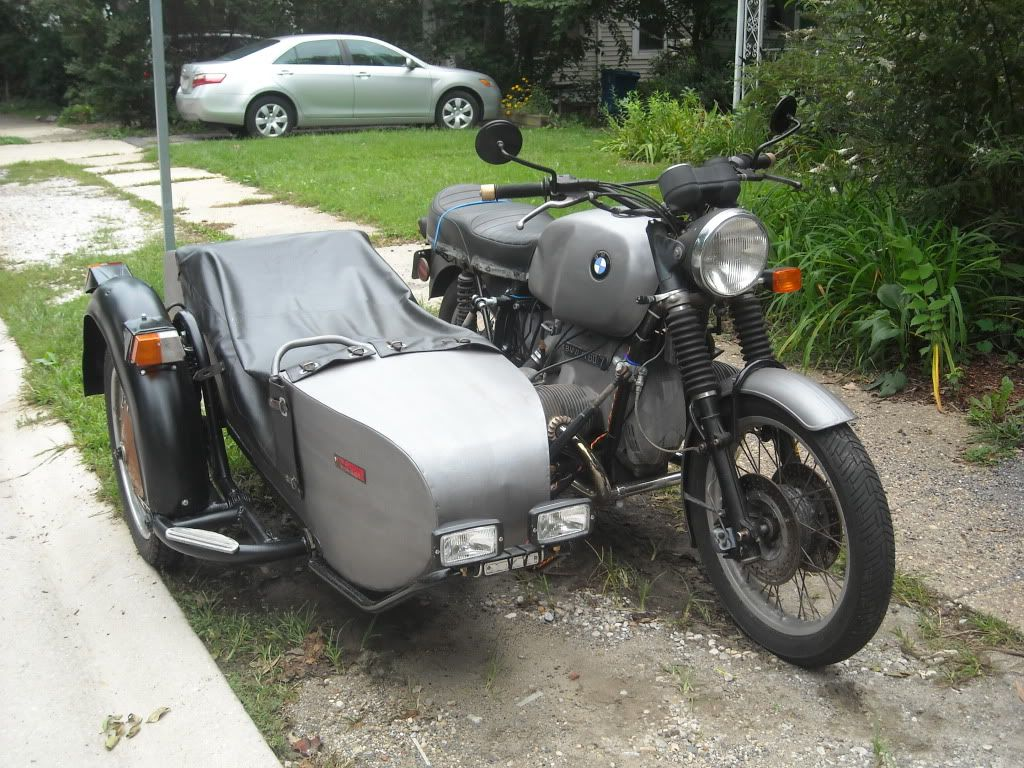 '78 BMW R80/7 with Dnepr sidecar rig