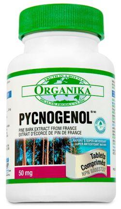 Organika Pycnogenol Pine Bark Extract Pycnogenol Dicalcium Phosphate Nitric Oxide