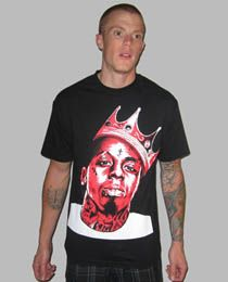 The Weezy Tee in Black XL|XXL|M|L