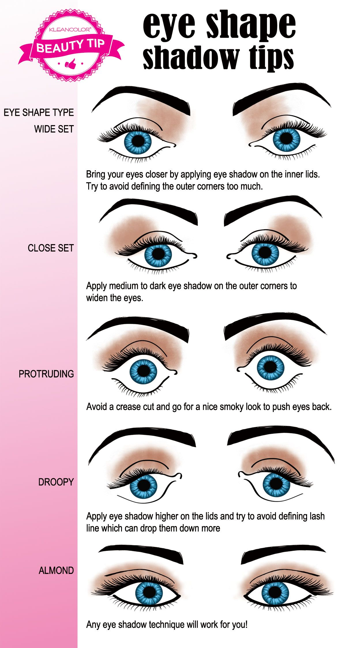 This Helpful Beauty Tip Shows How To Enhance Your Eye Shape With The