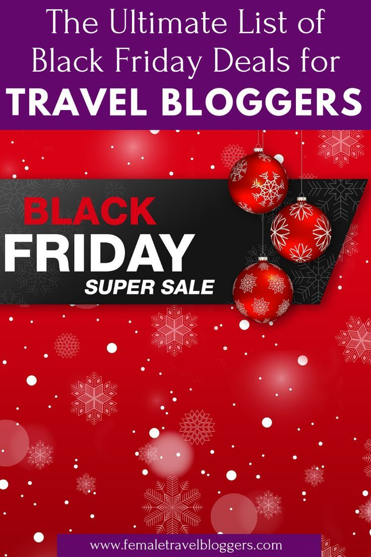 The Best Black Friday Cyber Monday Deals For Travel