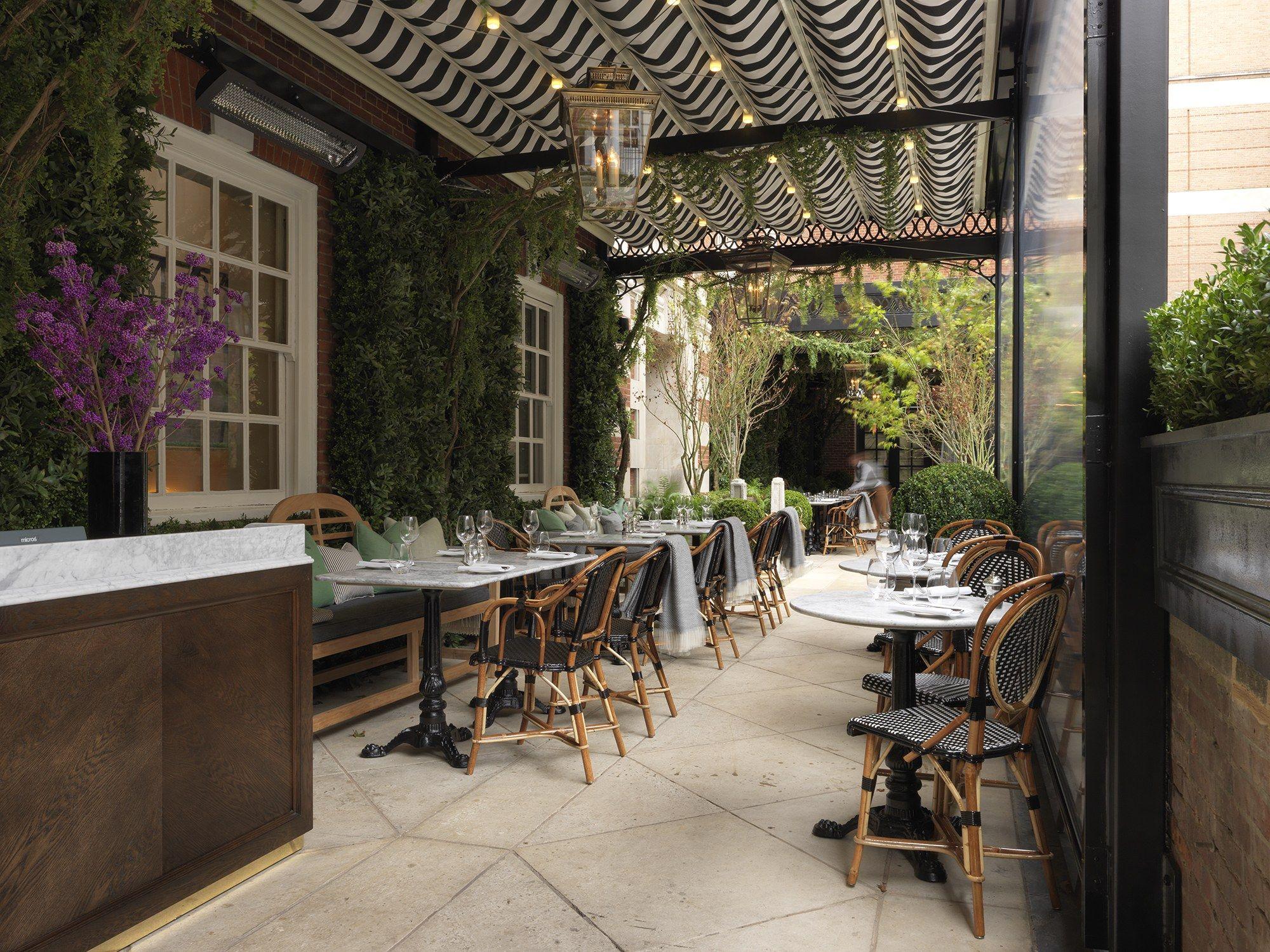 Discover London's Stylish New Restaurants Terrace