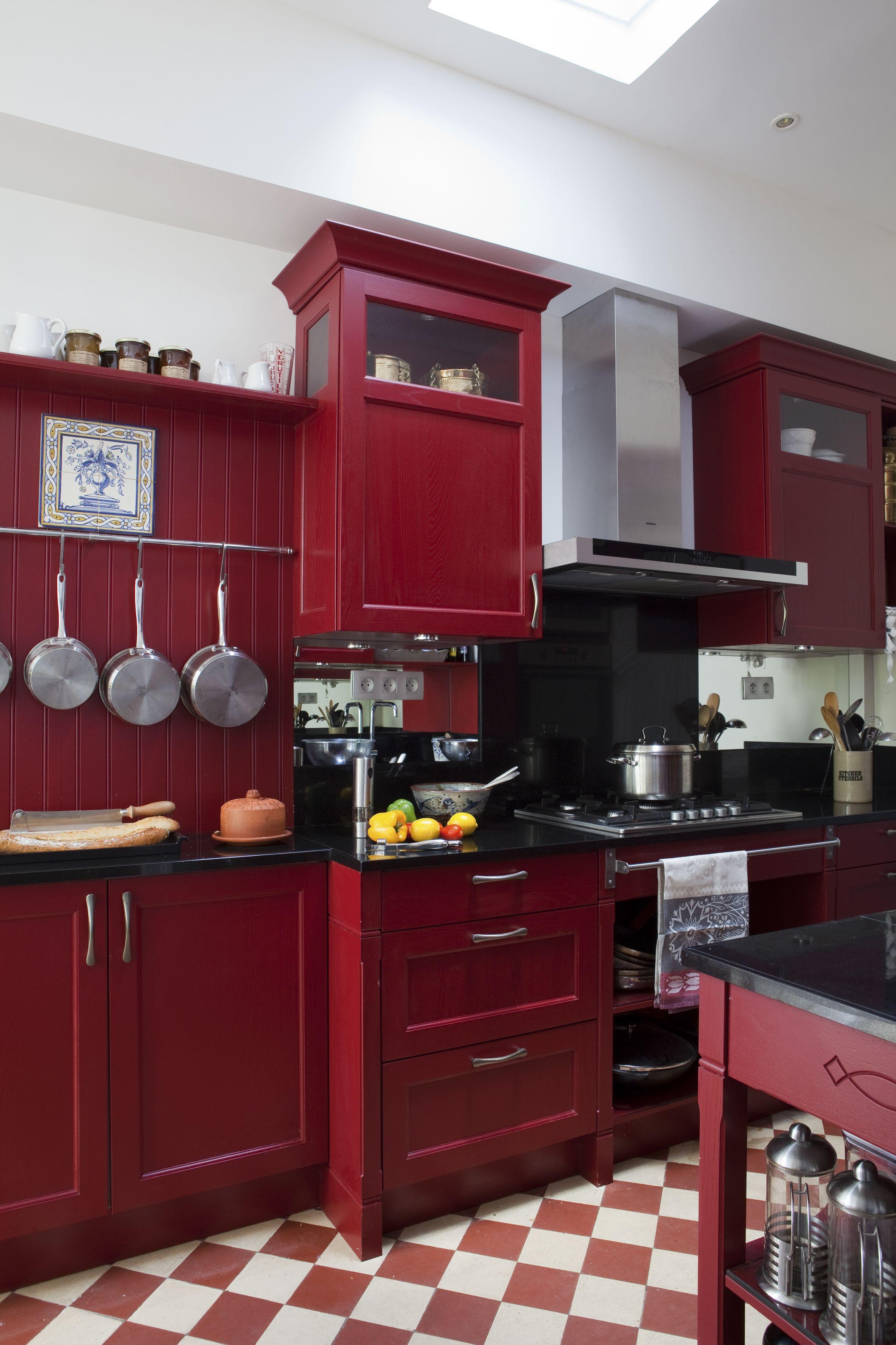 Une Cuisine Dans Art Et Decoration Fevrier 2014 Country Cottage