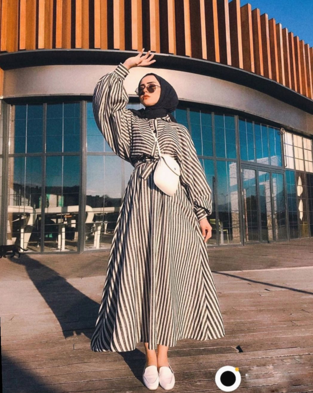 8+ Dress Casual Hijab Street Styles  Model pakaian hijab, Gaya