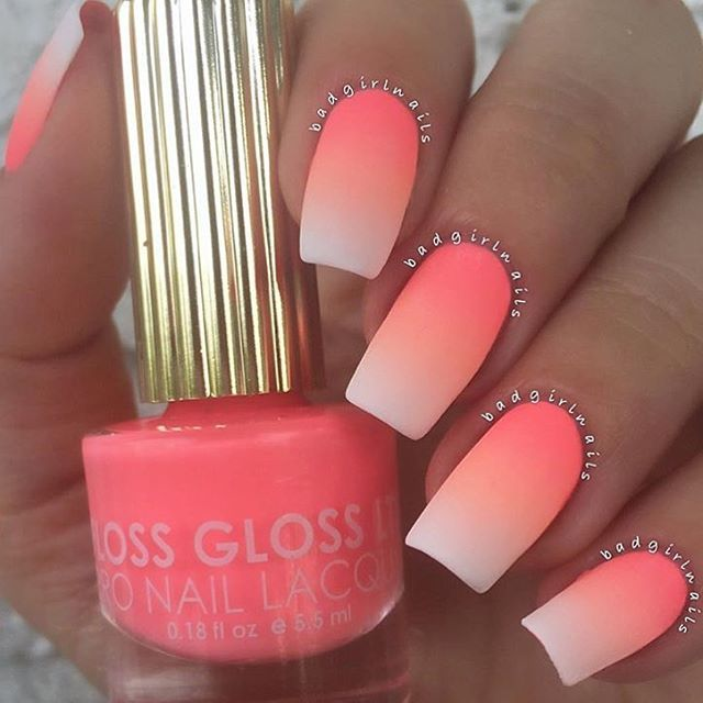 "1,052 Likes, 14 Comments - Floss Gloss Ltd®Nail Lacquer (@flossgloss) on Instagram: "" OKAY OKAY @badgirlnails JUS KILT THE GRADIENT GAME  SHE USED #FLOSSGLOSS NEW 'INTERNATIONAL…"""