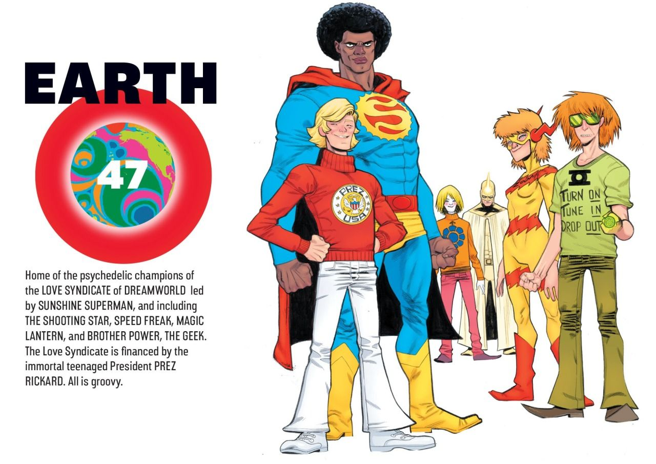 Earth-47 - The Love Syndicate