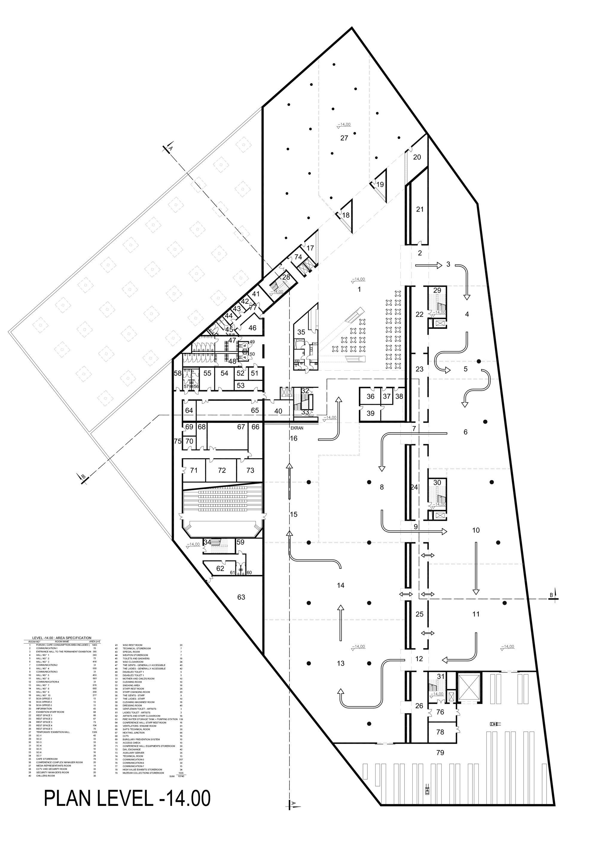 Gallery Of Museum Of The Second World War Studio Architektoniczne Kwadrat 86 Museum Architecture Museum Plan Art Galleries Architecture
