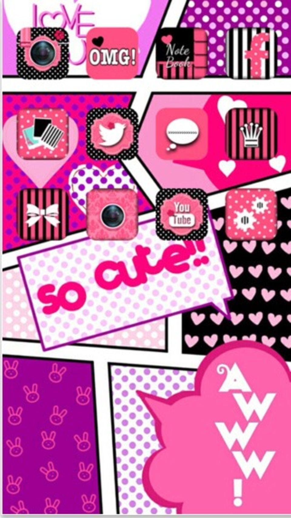 Whatsapp in Pink Mit diesem Trick änderst du die Farbe