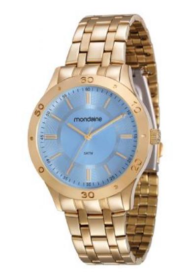cfc44e8aa08 83346LPMVDE1 Relógio Feminino Mondaine Analógico Dourado