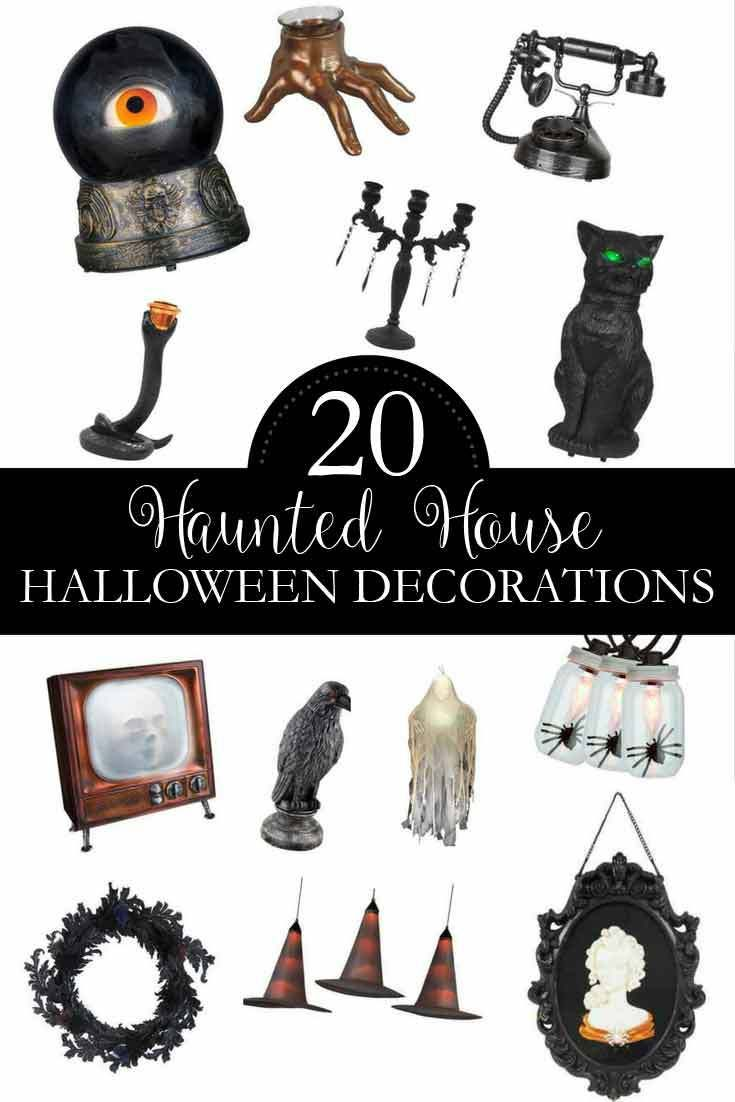20 Haunted House Halloween Decorations to Make Your Home Elegantly ...