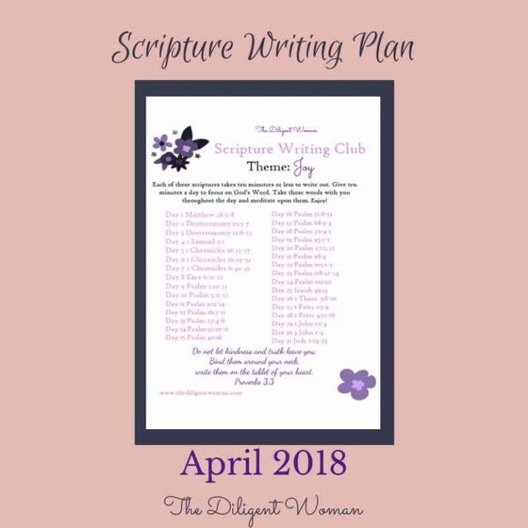 Scripture Writing about Joy | Writing plan, Writing, Bible ...