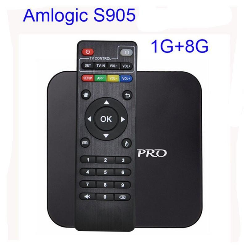 AKASO Android tv box 4.4 Box Amlogic S905 Quad Android