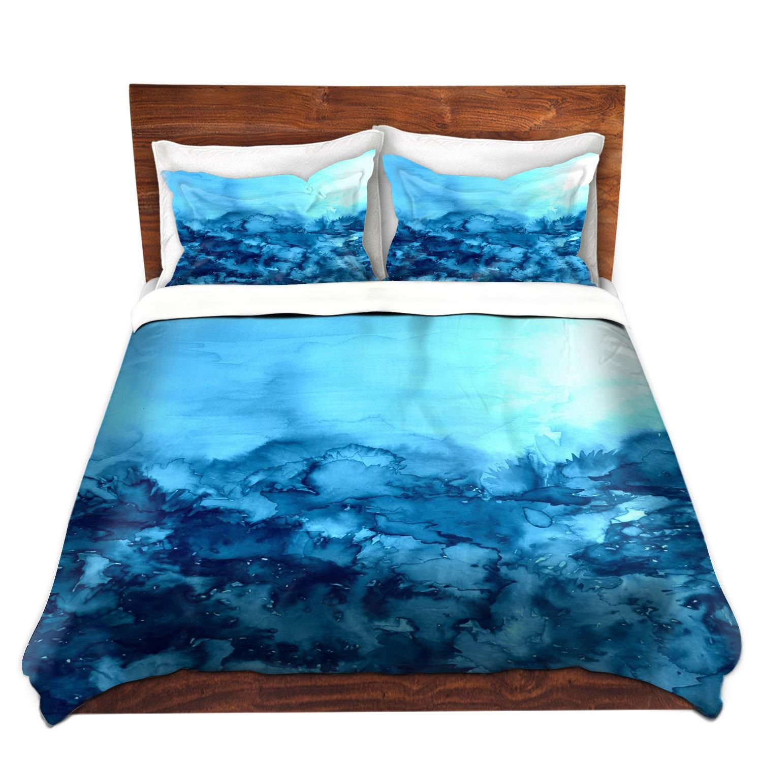 Turquoise Quilt Cover Turquoise Blue Fine Art Duvet Covers King Queen Twin