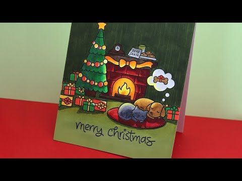 146 warm christmas coloring lawn fawn christmas dreams youtube