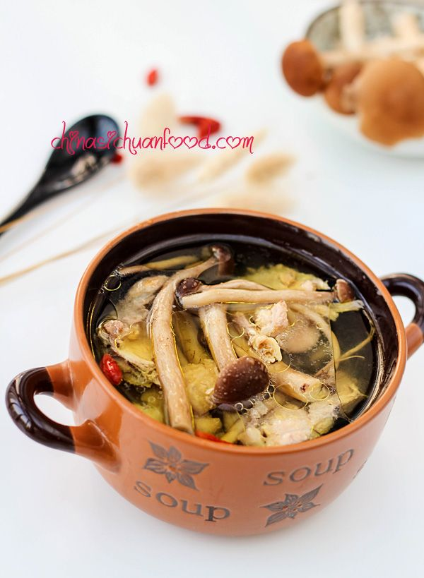 Chicken mushroom soup recipe mushroom soup mushrooms and chicken mushroom soup tea treechinese recipeschinese foodasian forumfinder Choice Image