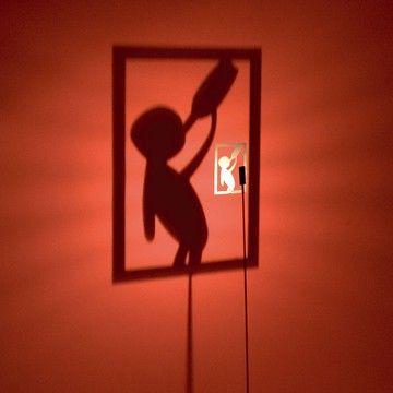 Shadow play - Shining Image Light Series -  Shining Image Drunkard Man by Michael Rösing