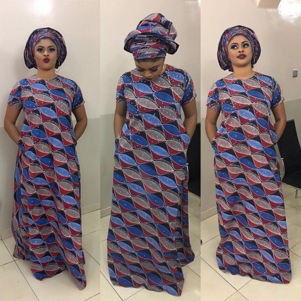 Long Ankara Dress Styles