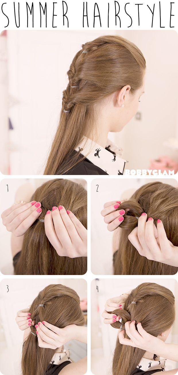 Cute Summer Hairstyle Hair Tutorial Hairstyles Tutorial Summer Hairstyles Hair Styles Hair Tutorial