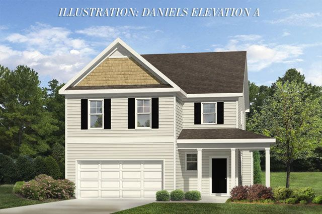 The Daniels, a home available in the Summerwind Plantation neighborhood.
