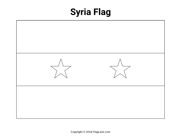 Free Printable Syria Flag Coloring Page Download It At Https Flaglane Com Coloring Page Syrian Flag Flag Coloring Pages Syria Flag Syrian Flag