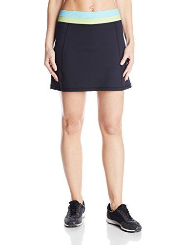 "Women love the look and functionality of our Fitness Skort., Moisture wicking., Reflective Life is good. heat transfer on back, 15"" length, Moisture wicking."