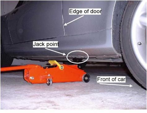 bmw e46 compact jacking points