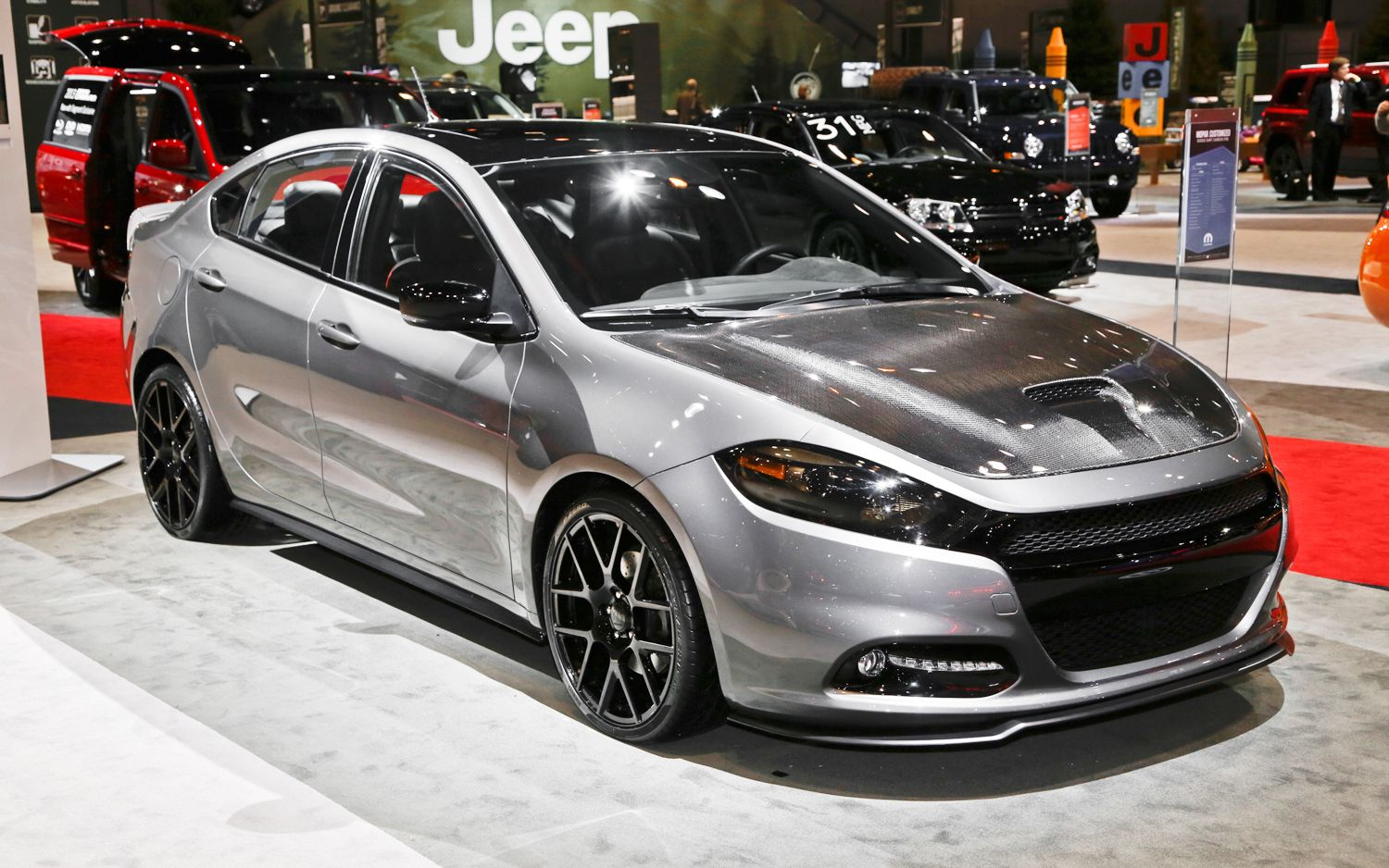 Dodge Dart To Blow Into Windy City Wearing Mopar Badges Custom