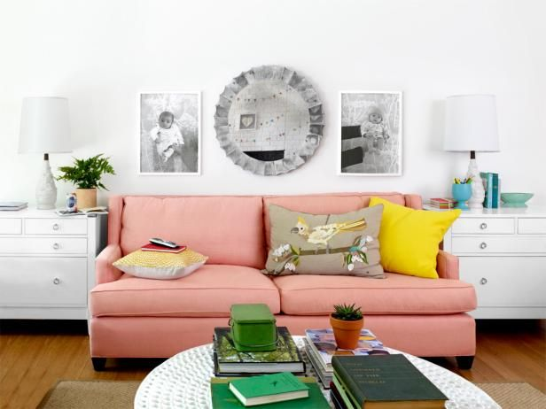 Whether you use this playful color as a sweet accent or completely cover your walls, peach is a shade that can instantly transform your home with a refreshing and cheery quality.