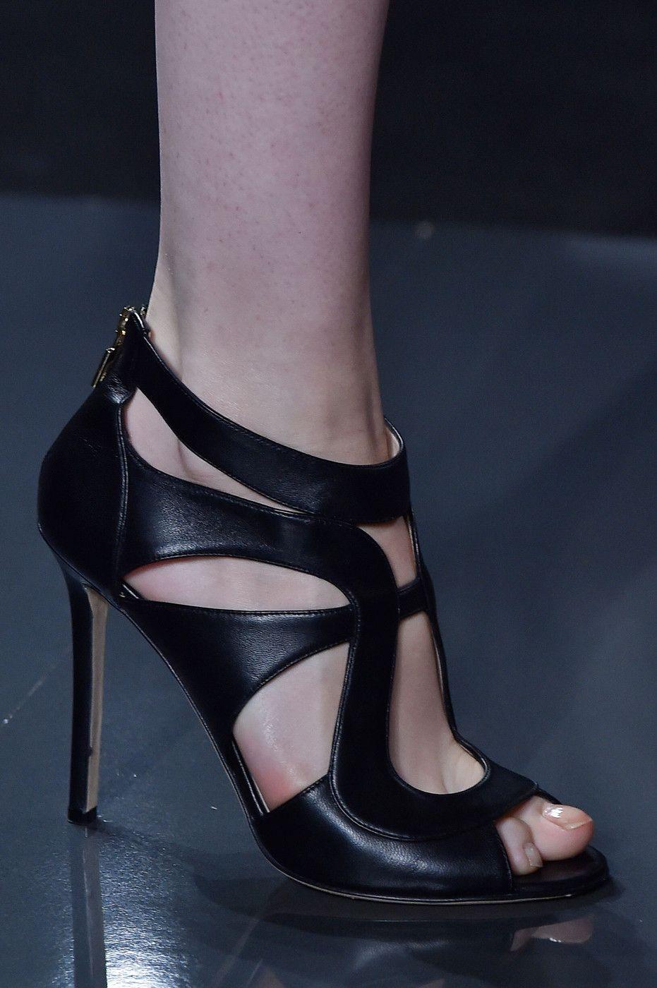 29e2c6ad548 Elie Saab at Paris Fashion Week Spring 2015 | Shoes | Shoes, Fashion ...