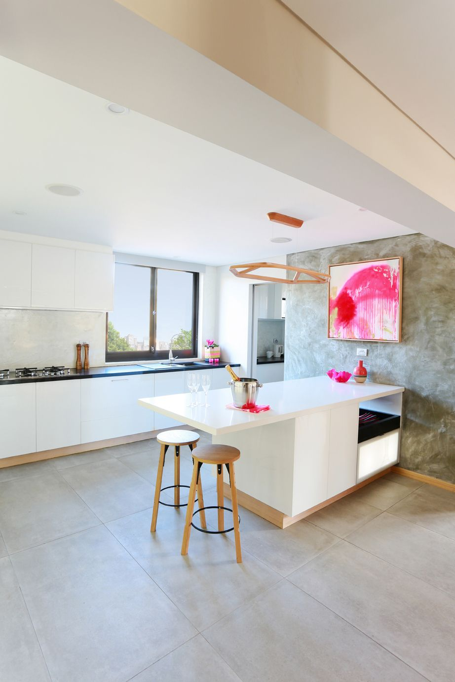 Kitchen Design Centre Hobart Matt From The Block Launches Polished Concrete Business Sky High