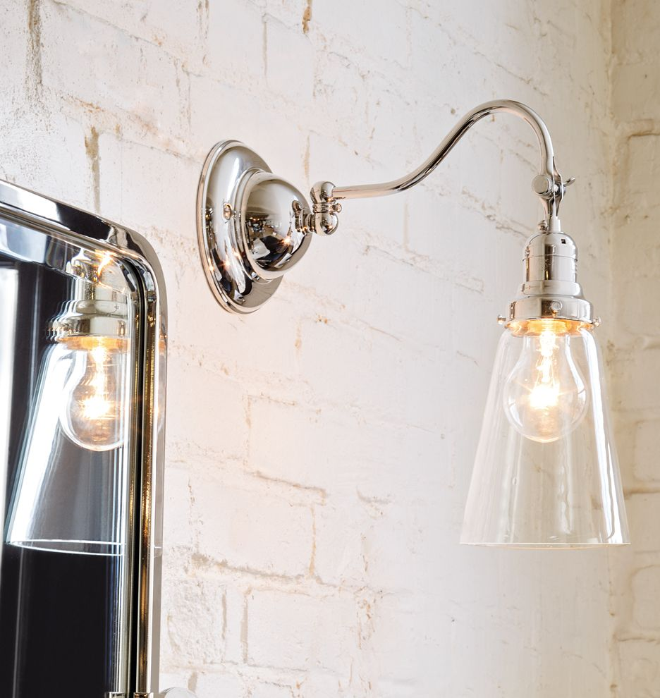 """Bathroom Wall Sconces: Fords Mill Single 2 1/4"""" Sconce"""