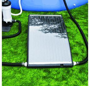 Poolmaster Slim Line Solar Pool Heater For Above Ground Pools Solar Pool Heater Solar Pool Above Ground Swimming Pools