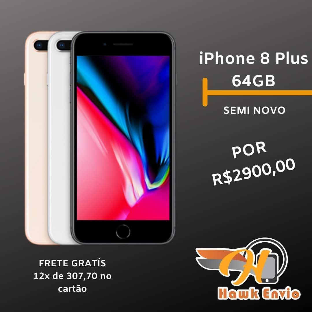 Win Free Airpods Pro GiveAWAY iPhone 8 PLUS 64GB (SEMI NOVO
